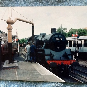 1988-the Severn valley railway-steam trains. - Photographs