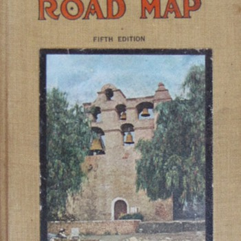 Hamilton&#039;s Illustrated Auto Road Map-fifth addition (1914)