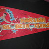 signed harlem globetrotters flag around 20 years old