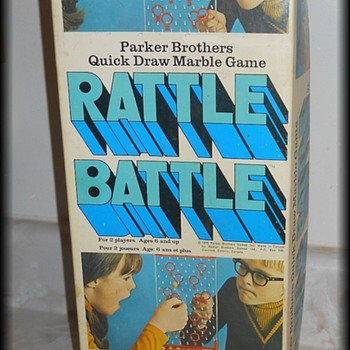 1970's - Vintage PARKER BROTHERS - Rattle Battle Game ( mine )
