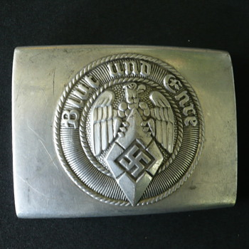 Hitler Youth Belt Buckle - Military and Wartime