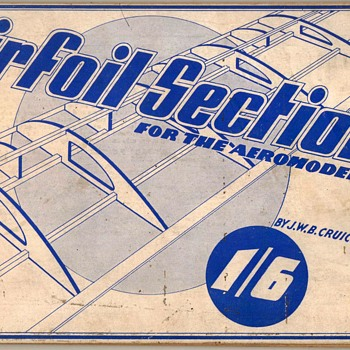 1940 - Airfoil Sections for the Aeromodeller - Books