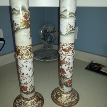 Asian Alter Candle Holders