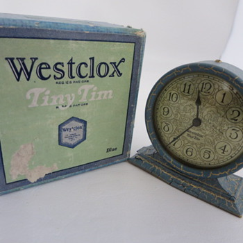 Westclox Tiny Tim Clock - Clocks