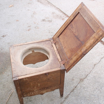 Old commode-- trying to ID - Furniture