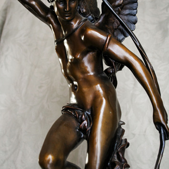 Bronze of Eros - Visual Art