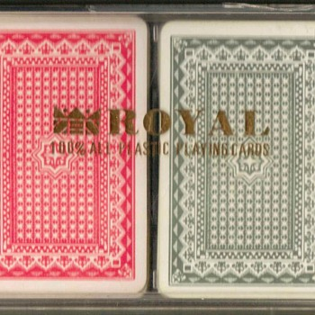 Zen Royal Brand Plastic Playing Cards Set
