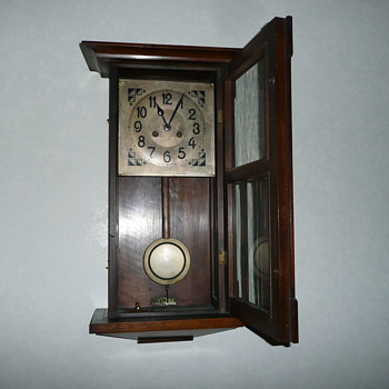 Antique Wall Clock - Clocks