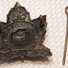 WWII Perth Regiment Cap Badge