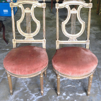 My Friend's Lyre Chairs - Furniture