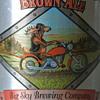 1999 Moose Drool - Full Six Pack- Moose Riding a Harley
