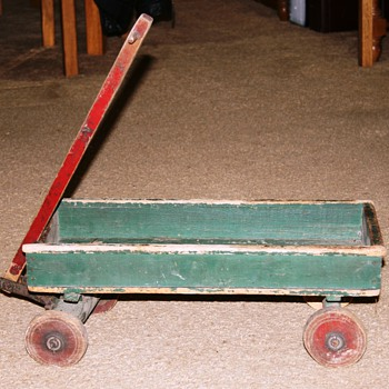 Wooden Toy Wagon - Toys