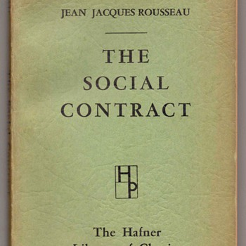 1957 - The Social Contract - Books