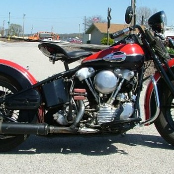 1941 Harley-Davidson knucklehead - Motorcycles