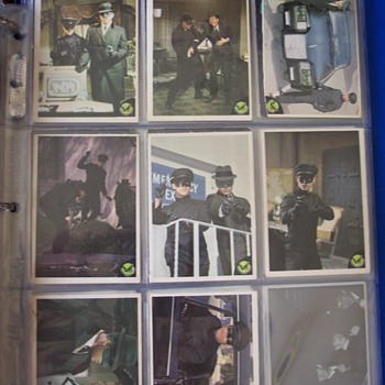 Green Hornet trading cards  - Cards