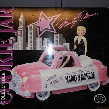marilyn monroe grand marshall cookie jar