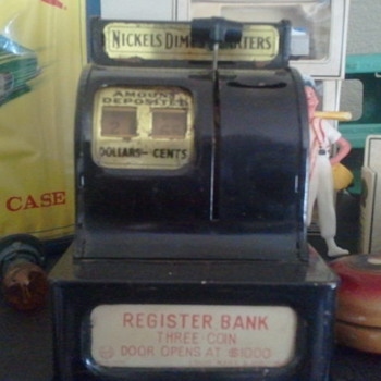 Toy Tin Bank