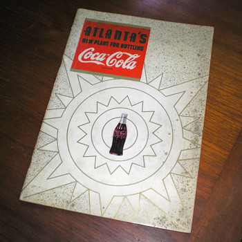 1940s, 50s Coca-Cola Bottling Plant Brochures