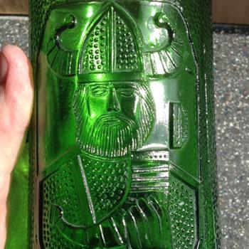 John Käll for Elme Glasbruk Sweden c1960s Viking glass