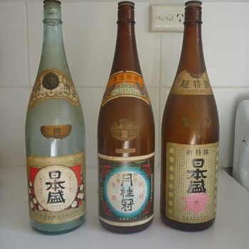 Saki Bottles from the 70's?