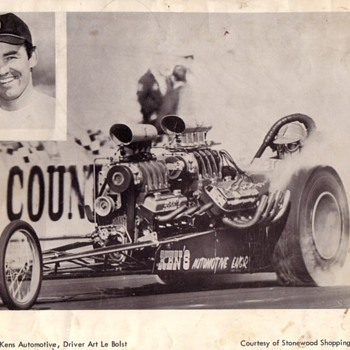 The Odd Couple and Freight Train AA/Gas Dragsters - Classic Cars