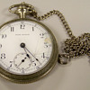 SETH THOMAS Silver Pocket Watch ( Help)