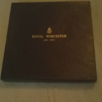 Royal Worcester Bone China Limited Edition Plate - China and Dinnerware