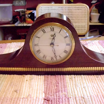 1945-55 Better Homes Club Plan/Telechron Tambour Clock #605