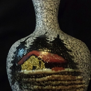 German bud vase - Pottery