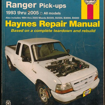 Haynes Repair Manual - Ford Ranger Pick-ups - Classic Cars