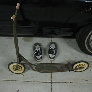 My old kick scooter