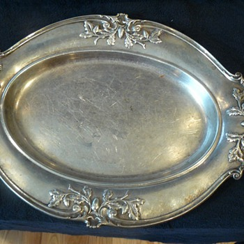 Antique Gorham Sterling Silver Platter
