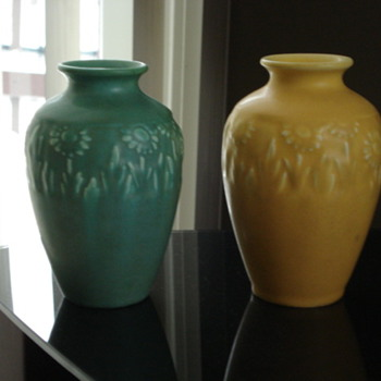 Rookwood vases - Art Pottery