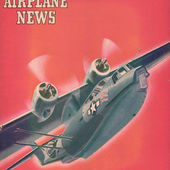 1944 - Model Airplane News magazine - April