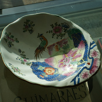 Antique Porcelain Plate - East India Company