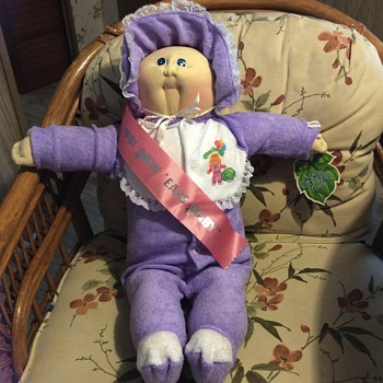 1981 New Years cabbage patch doll from babylandgeneral hospital
