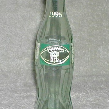 1998 Coca Cola / NFL Bottle