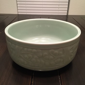 Neat bowl. Where's it from!?! - Asian