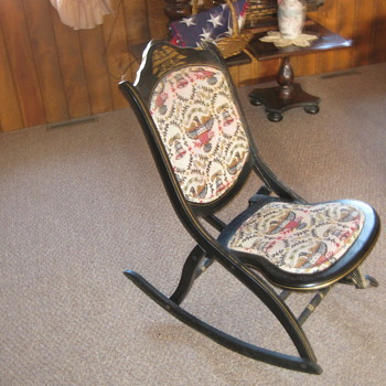 Bicentennial Rocking Chair 1776-1976