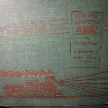 1928 &quot;The Wonderful Locomotive&quot; - Books