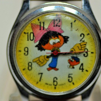 Anyone Know this Cartoon Character? - Wristwatches