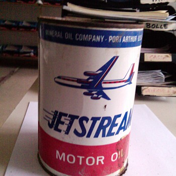 Jetstream Oil Can - Petroliana