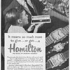 1953 - Hamilton Watches Advertisement