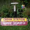 fairmont creamery sign