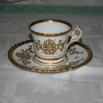 Early Chamberlain Worcester Cup & Saucer