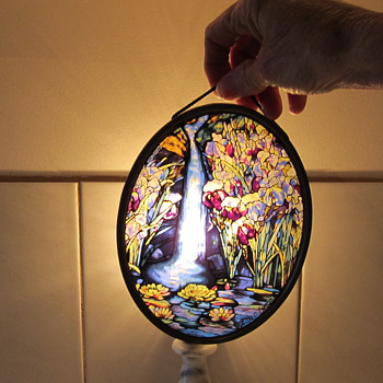 Lead lined picture - Art Glass