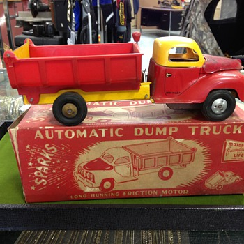 Automatic Toy Dump Truck - Toys