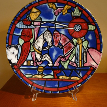 THE ANNUAL  CARTIER CATHEDRAL PLATE FIRST ISSUE C. 1972