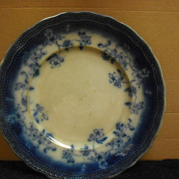 Old Blue plate
