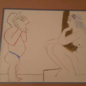 2 Picasso lithographs - Visual Art